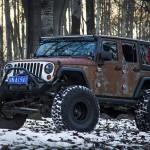 Jeep Wrangler Hunting Unlimited por Vilner: Tal vez uno de los autos que más se presta para ediciones especiales y tuneos de todo el mercado es el Jeep Wrangler. De él se han presentado versiones como el Wrangler Rubicon Recon Edition, Wrangler 6X6 Tomahawk, Jeep Wrangler 75th Salute Concept, Jeep Wrangler Edición Especial X y el Jeep Wrangler Unlimited Rubicon Stealth Study solo para mencionar unos cuantos. Pero el que les presentaremos hoy es aún más espectacular. se trata del Wrangler Hunting Unlimited por Vilner, una versión con una apariencia musculosa, fuerte y con un color sumamente diferente.