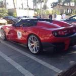 Ferrari LaFerrari F12 TRS Spyder:Mecánicamente cuenta con el sistema KERS que usan en la Fórmula 1, por lo que la potencia de su tradicional V12 de 6.2 litros, podría haber sido elevada a 730 Hp y obtenido un par de 509 libras-pie. Su precio sería de 4.2 millones de dólares.