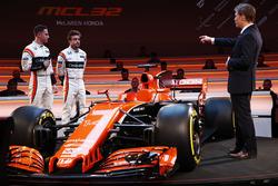 Este es el nuevo MCL-32 de McLaren para la Fórmula 1 2017.
