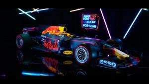 Este es el RB13, el nuevo monoplaza de Red Bull para laF1 2017.