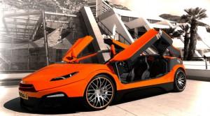 Savage Rivale Roadyacht GTS: un espectacular convertible de cuatro puertas.