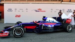 STR12, el Monoplaza de Toro Rosso para la Fórmula 1 2017