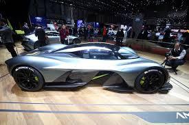 Salón de Ginebra 2017: Aston Martin Valkyrie, una bestia de F1 para la calle.