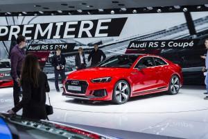 Auto Show de Ginebra 2017: Audi RS5 Coupé 2018, una poderosa y mejora generación.