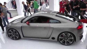 Audi TT Clubsport Concept, un deportivo biturbo eléctrico.