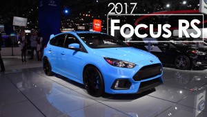 Ford Focus RS 2017: poder y prestaciones.