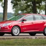 2017 Ford Focus eléctrico: Rivals: Nissan Leaf and Renault ZOE.