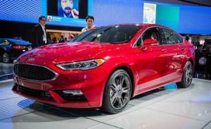 Ford Fusion Sport 2017: 325CV y tracción total