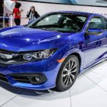 Honda Civic Coupé 2017: Para México la versión Civic Coupé Turbo AT tiene un precio de $369,900 MXN