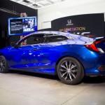 2017 Honda Civic Coupé: Rivals: Hyundai Elantra Coupé, Kia Cerato Koup and Toyota Zelas.