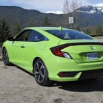 2017 Honda Civic Coupé: Prices U.S.A (•LX 2.OL 6TM: $19,150) (•LX 2.0L CVT: 19,950) (•LX-P 2.0L CVT: $20,950) (•EX-T 1.5L Turbo 6TM: $21,600) (•EX-T 1.5L Turbo CVT: $22,400) (•EX-L 1.5L Turbo CVT: $23,525) (•Touring 1.5L Turbo CVT: $26,225)