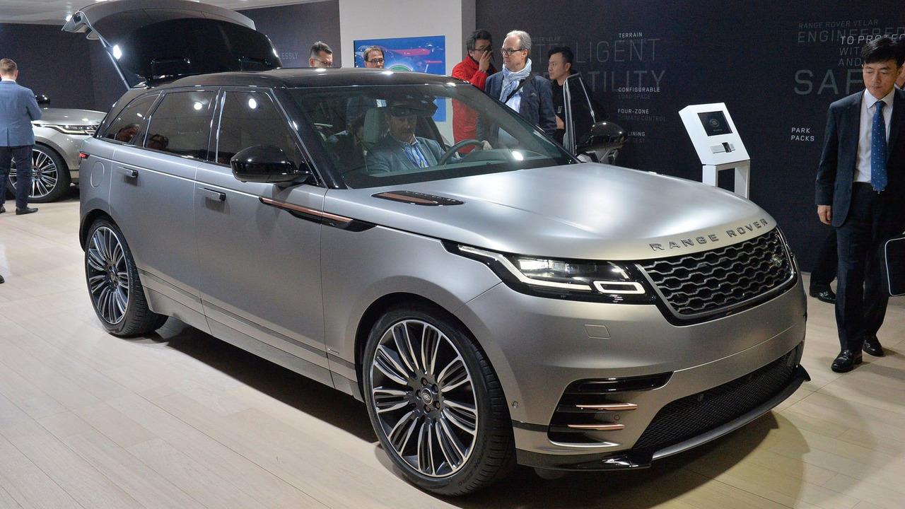 auto show de ginebra 2017 land rover range rover velar 2018 moderno y audaz lista de carros. Black Bedroom Furniture Sets. Home Design Ideas