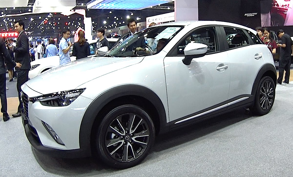 mazda cx 3 2017 buen tama o y atractivo dise o lista de carros. Black Bedroom Furniture Sets. Home Design Ideas
