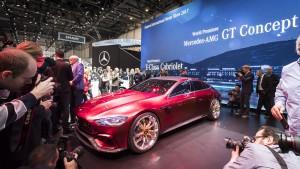Auto Show de Ginebra 2017: Mercedes-AMG GT Concept, que tiemble el Panamera.