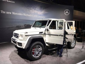 Auto Show de Ginebra 2017: Mercedes-Maybach G650 Landaulet, máximo lujo para cualquier camino