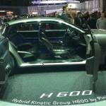 Imágenes del Pininfarina H600 Concept.