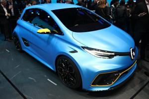 Salón de Ginebra 2017: Renault Zoe e-Sport Concept, un eléctrico de 460CV.