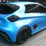 Renault Zoe e-Sport Concept: Hoy, la marca quiere apostar por un eléctrico deportivo y nos entrega a este prototipo basado en su vehículo verde más conocido en Europa, el Zoe. Este conceptual planea romper con esa idea de que los eléctricos son aburridos. Sus argumentos son un 0 a 100 km/h en 3.2 segundos y una velocidad tope de 210 km/h, alcanzada además, en tan sólo 10 segundos. Cifras bastantes buenas a pesar de su elevado peso: 1,400 kilogramos en total.