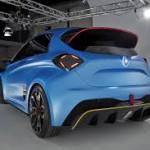 Renault Zoe e-Sport Concept: Una de las características más destacadas del Renault ZOE e-Sport Concept es la elevada cifra de potencia, 460 caballos y un par instantáneo de 640 Nm gracias a dos motores que suministran una potencia conjunta de 340 kW. Una cifra bastante elevada si tenemos en cuenta que por ejemplo, el reglamento FIA sólo permite 270 caballos para un monoplaza de la citada Fórmula E.