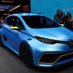 Imágenes del Renault Zoe e-Sport Concept.