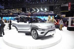 Salón de Ginebra 2017: SsangYong XAVL Concept, una SUV para 7 pasajeros.