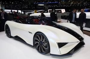 Salón de Ginebra 2017: Techrules Ren (Techrules GT96), un concept car híbrido de 1.300CV