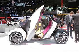 Salón de Ginebra 2017: Toyota i-TRIL Concept, así será la movilidad urbana en 2030.
