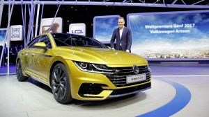 Salón de Ginebra 2017: Volkswagen Arteon Gran Turismo 2018, un elegante y lujoso Coupé de cuatro puertas.