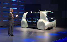 Salón de Ginebra 2017: Volkswagen Sedric Concept, una minivan futurista y 100% autónoma