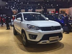 Salón de Shanghái 2017: BAIC X35 2018, una nueva e interesante SUV china