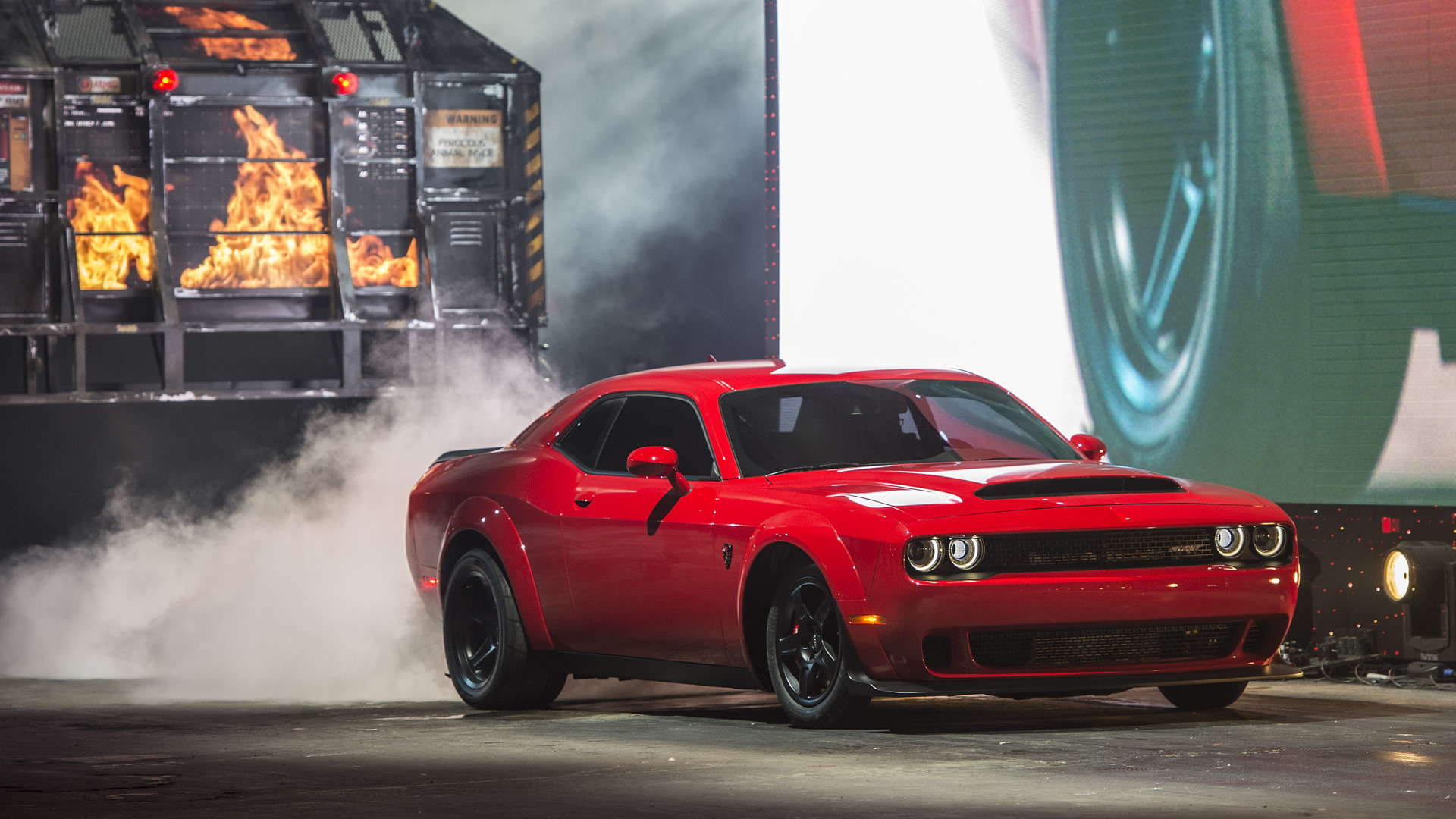 auto show nueva york 2017 dodge challenger srt demon 2018 una verdadera bestia lista de carros. Black Bedroom Furniture Sets. Home Design Ideas