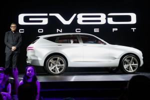 Auto Show de Nueva York 2017: Genesis GV80 Concept, la próxima SUV coreana de lujo