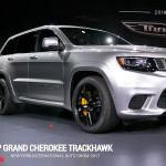 Jeep Grand Cherokee Trackhawk 2018: A su llegada al mercado será la SUV más poderosa y rápida del mundo. Para decirlo de una forma más clara digamos qque la Grand Cherokee Trackhawk 2018 tiene el mismo poder del Dodge Challenger y Dodge Charger SRT Hellcat. Así de sencillo. Su precio no ha sido confirmado.