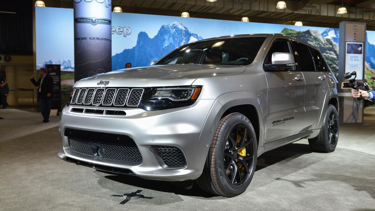 Salón de Nueva York 2017: Jeep Grand Cherokee Trackhawk ...