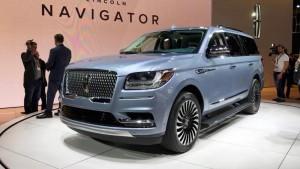 Auto Show Nueva York 2017: Lincoln Navigator 2018, renovada y más lujosa