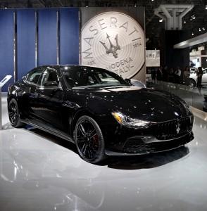 Auto Show de Nueva York 2017:Maserati Ghibli Nerissimo Edition, lujo y exclusividad
