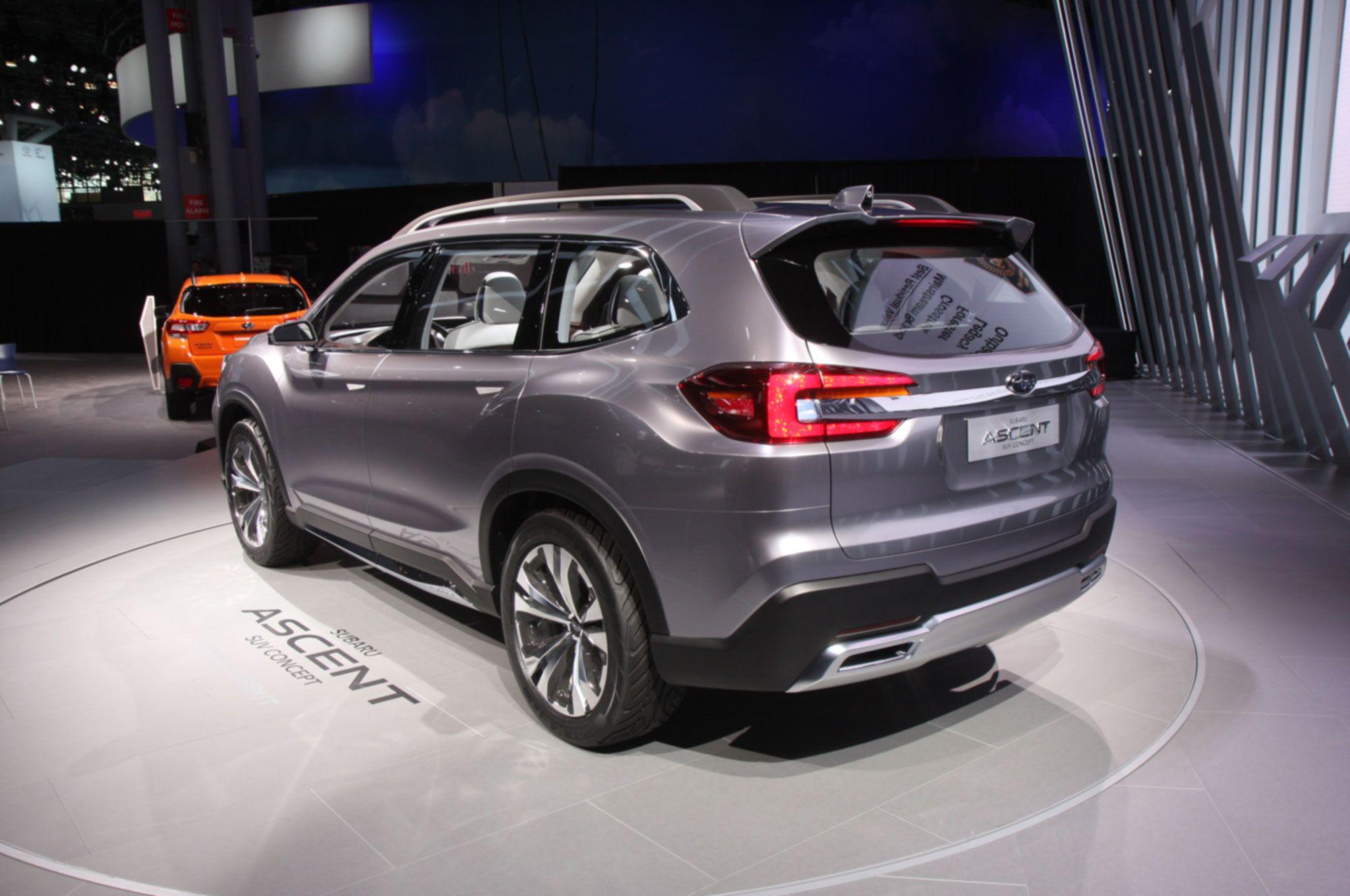 Salón del Automóvil de Nueva York 2017: Subaru Ascent SUV ...