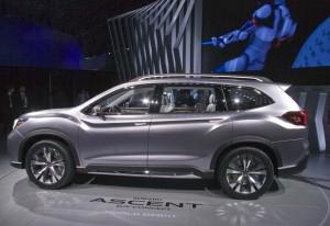 Salón del Automóvil de Nueva York 2017: Subaru Ascent SUV Concept, una gran SUV de 7 plazas