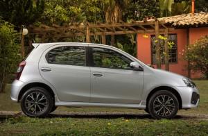 Toyota Etios Hatchback 2017: pequeños cambios.