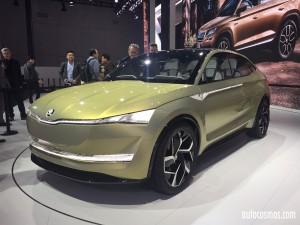Salón de Shanghai 2107: Skoda Vision E, el primer concept 100% eléctrico de Skoda