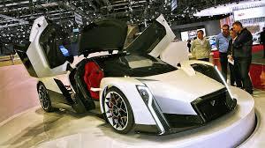 Dendrobium EV Concept, un hyperdeportivo con 1500 CV.