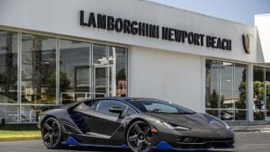Entregan la primera unidad del Lamborghini Centenario de $1.9 millones a EEUU