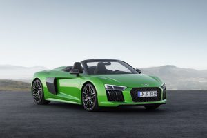 Audi R8 V10 Spyder Plus 2018: poder, belleza y exclusividad al más alto nivel.