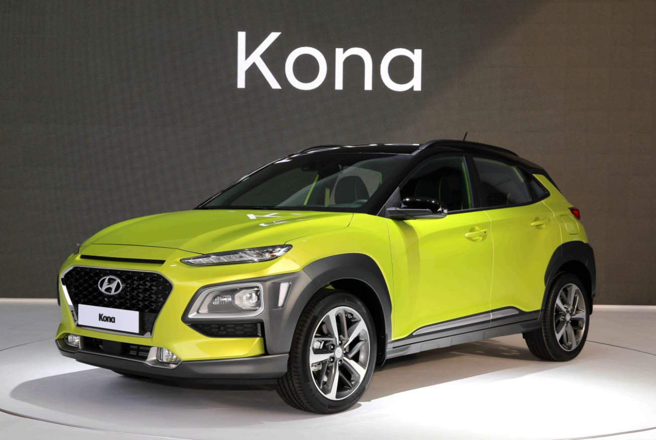 hyundai kona 2018 una ex tica y audaz suv para los millenial lista de carros. Black Bedroom Furniture Sets. Home Design Ideas