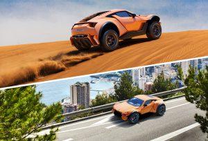 Zarooq SandRacer 500 GT, un superdeportivo para el desierto