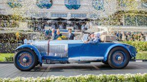 Los autos del 'Concours d'Elegance' de Pebble Beach 2017.