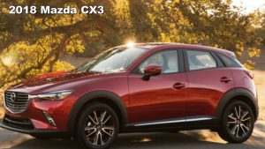 Mazda CX-3 2018: diseño, eficiencia, seguridad, lujo y tecnología
