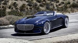 Vision Mercedes-Maybach 6 Cabriolet: un lujoso superyate eléctrico para la carretera