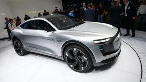 Salón de Frankfurt 2017: Audi Elaine Concept, un SUV eléctrico y autónomo que anticipa los futuros Audi.