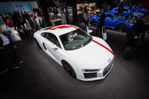 Salón de Frankfurt 2017: Audi R8 V10 RWS, el primer R8 con tracción trasera